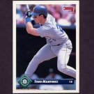 1993 Donruss Baseball #217 Tino Martinez - Seattle Mariners