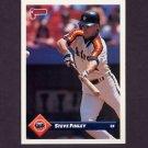 1993 Donruss Baseball #192 Steve Finley - Houston Astros