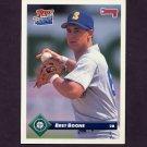 1993 Donruss Baseball #188 Bret Boone - Seattle Mariners