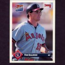 1993 Donruss Baseball #176 Tim Salmon - California Angels
