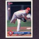 1993 Donruss Baseball #118 Curt Schilling - Philadelphia Phillies