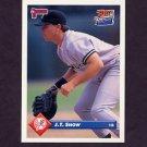 1993 Donruss Baseball #110 J.T. Snow RC - New York Yankees