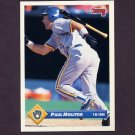 1993 Donruss Baseball #075 Paul Molitor - Milwaukee Brewers