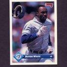 1993 Donruss Baseball #029 Devon White - Toronto Blue Jays