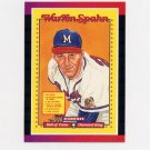 1989 Donruss Baseball Warren Spahn Puzzle Complete Set 1-63