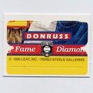 1989 Donruss Baseball Warren Spahn Puzzle Pieces Nos. 58,59,60 of 63