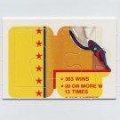 1989 Donruss Baseball Warren Spahn Puzzle Pieces Nos. 37,38,39 of 63