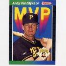1989 Donruss Baseball Bonus MVP's #BC10 Andy Van Slyke - Pittsburgh Pirates