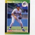 1989 Donruss Baseball #645 Edgar Martinez - Seattle Mariners