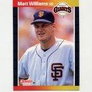 1989 Donruss Baseball #594 Matt Williams - San Francisco Giants