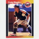 1989 Donruss Baseball #561 Craig Biggio RC - Houston Astros NM-M