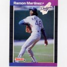 1989 Donruss Baseball #464 Ramon Martinez RC - Los Angeles Dodgers