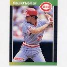 1989 Donruss Baseball #360 Paul O'Neill - Cincinnati Reds