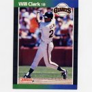 1989 Donruss Baseball #249 Will Clark - San Francisco Giants