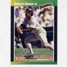 1989 Donruss Baseball #246 Roberto Alomar - San Diego Padres