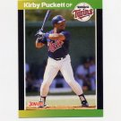 1989 Donruss Baseball #182 Kirby Puckett - Minnesota Twins