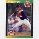 1989 Donruss Baseball #154 Nolan Ryan - Houston Astros
