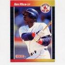 1989 Donruss Baseball #122 Jim Rice - Boston Red Sox