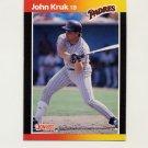 1989 Donruss Baseball #086 John Kruk - San Diego Padres