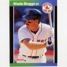 1989 Donruss Baseball #068 Wade Boggs - Boston Red Sox