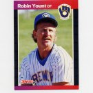 1989 Donruss Baseball #055 Robin Yount - Milwaukee Brewers ExMt