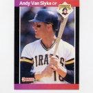 1989 Donruss Baseball #054 Andy Van Slyke - Pittsburgh Pirates