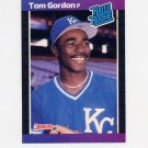 1989 Donruss Baseball #045 Tom Gordon RC - Kansas City Royals