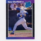 1989 Donruss Baseball #031 Gary Sheffield RC - Milwaukee Brewers ExMt