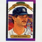 1989 Donruss Baseball #026 Don Mattingly Diamond Kings - New York Yankees