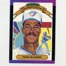 1989 Donruss Baseball #016 Fred McGriff Diamond Kings - Toronto Blue Jays