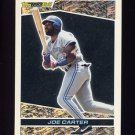 1993 Topps Black Gold Baseball #26 Joe Carter - Toronto Blue Jays