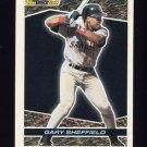 1993 Topps Black Gold Baseball #18 Gary Sheffield - San Diego Padres