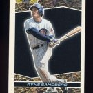 1993 Topps Black Gold Baseball #17 Ryne Sandberg - Chicago Cubs