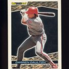 1993 Topps Black Gold Baseball #03 Darren Daulton - Philadelphia Phillies