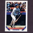 1993 Topps Traded Baseball #024T Mike Piazza - Los Angeles Dodgers
