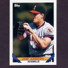 1993 Topps Baseball #780 Jim Abbott - California Angels