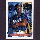 1993 Topps Baseball #745 Eric Davis - Los Angeles Dodgers