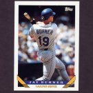 1993 Topps Baseball #718 Jay Buhner - Seattle Mariners