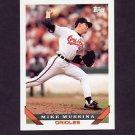 1993 Topps Baseball #710 Mike Mussina - Baltimore Orioles