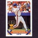 1993 Topps Baseball #703 Jeff Kent - New York Mets