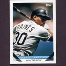 1993 Topps Baseball #675 Tim Raines - Chicago White Sox
