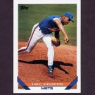 1993 Topps Baseball #640 Dwight Gooden - New York Mets