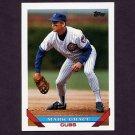 1993 Topps Baseball #630 Mark Grace - Chicago Cubs