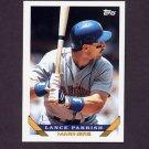 1993 Topps Baseball #609 Lance Parrish - Seattle Mariners