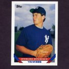 1993 Topps Baseball #530 Sterling Hitchcock RC - New York Yankees