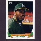 1993 Topps Baseball #440 Ruben Sierra - Oakland A's