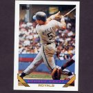 1993 Topps Baseball #397 George Brett - Kansas City Royals