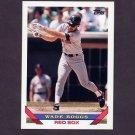1993 Topps Baseball #390 Wade Boggs - Boston Red Sox