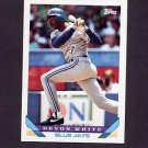 1993 Topps Baseball #387 Devon White - Toronto Blue Jays