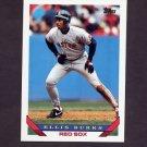 1993 Topps Baseball #351 Ellis Burks - Boston Red Sox